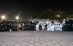 الصورة: الصورة: محمد بن زايد: العمل التطوعي يمثل نهجاً حضارياً يتميز به مجتمع الإمارات