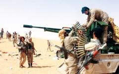 الصورة: الصورة: التحالف يدمر تعزيزات حوثية في الضالع