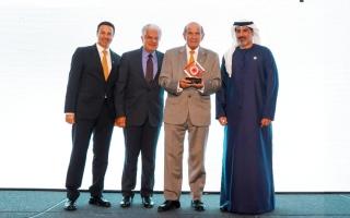 الصورة: الصورة: سوق دبي الحرة تفوز بجائزة «بزنس ترافلر الشرق الأوسط»