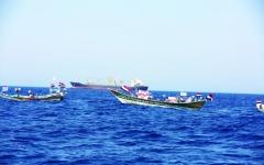 الصورة: الصورة: الحوثي يتكبد عشرات القتلى شمالي الضالع