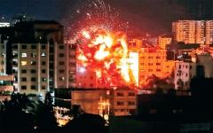 الصورة: الصورة: إسرائيل تفجر تهدئة غزة وجهود احتواء مصرية