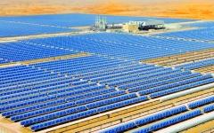 الصورة: الصورة: مشروع طاقة شمسية مصري يوازي 20% من مساحة واشنطن