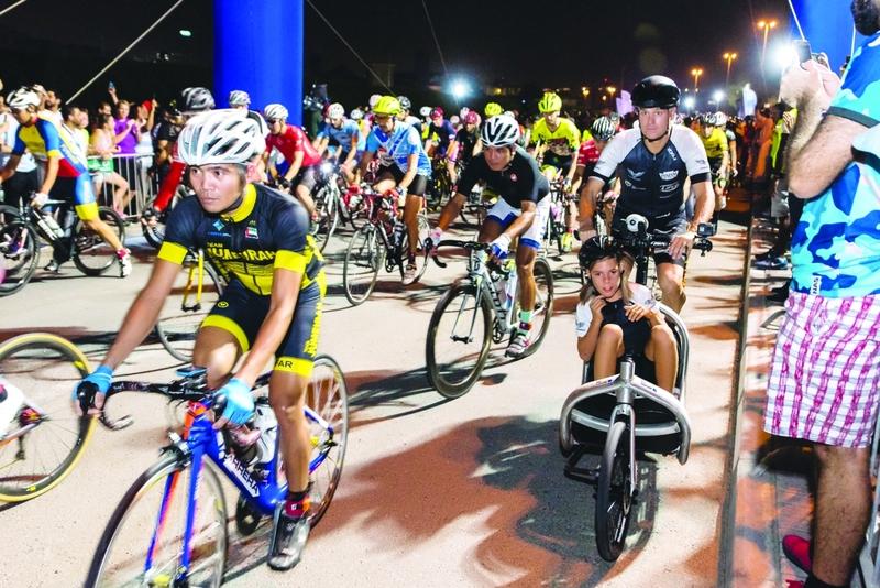 الصورة : زيادة فئات الدراجات الهوائية بإضافة الناشئين  |  البيان
