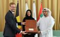 الصورة: الصورة: بلجيكا تتسلّم أول بطاقة منشأة لدولة مشاركة في إكسبو 2020 دبي