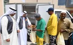 الصورة: الصورة: بنك الإمارات للطعام يرسّخ مفاهيم العطاء عبر خمسة أفرع في الإمارات