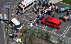 الصورة: الصورة: سيارة تدهس 13 طفلا وتقتل اثنين منهم غربي اليابان