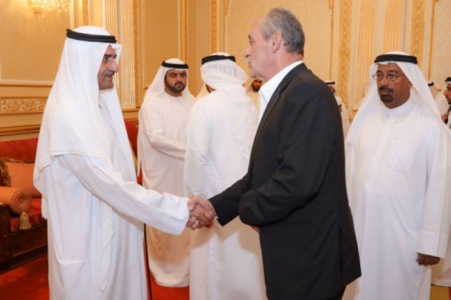 The Rulers Of Fujairah Umm Al Quwain And Ras Al Khaimah Continue To Welcome Well Wishers