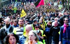 الصورة: الصورة: «السترات الصفراء» تختبر مراكز جديدة للاحتجاج