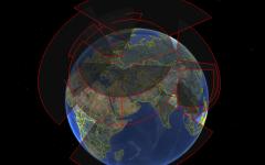 الصورة: الصورة: نظام استخبارات فضائي روسي جديد يسمح بمراقبة كاملة لسطح الأرض