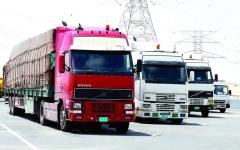 الصورة: الصورة: تعديل حظر مرور الشاحنات في شوارع دبي