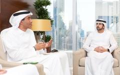 الصورة: الصورة: حمدان بن محمد يعلن نتائج مؤشر سعادة المتعاملين والموظفين والمتسوق السري لحكومة دبي