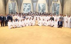 الصورة: الصورة: محمد بن راشد: الإمارات بقيادة خليفة تسابق الزمن لإرساء دعائم مستقبل واعد لنا و لمنطقتنا و العالم