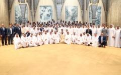 الصورة: الصورة: محمد بن راشد: الإمارات بقيادة خليفة تسـابق الزمن لإرسـاء دعائم مستقبل واعـــد