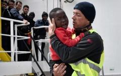 الصورة: الصورة: 5500 غرامة على كل مهاجر تم إنقاذه في البحر وإجلاءه إلى إيطاليا