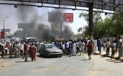 الصورة: الصورة: السودان.. جرحى بإطلاق نار في ساحة الاعتصام
