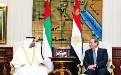 الصورة: الصورة: الإمارات ومصر: يدٌ واحدة لتحصين المنطقة