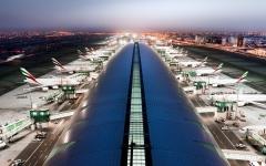 الصورة: الصورة: المكتب الإعلامي لحكومة دبي: عمليات مطار دبي الدولي تسير بشكل طبيعي