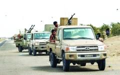 الصورة: الصورة: التحالف يدك أوكار الحوثي بعمليات نوعية