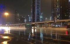 الصورة: الصورة: بالفيديو.. أمطار الخير على دبي