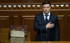 الصورة: الصورة: الرئيس الأوكراني الجديد يعلن حل البرلمان