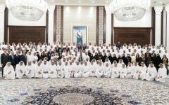 الصورة: الصورة: محمد بن زايد: الإمارات بقيادة خليفة تنظر إلى الإعلام كشريك في منظومة التنمية الوطنية الشاملة