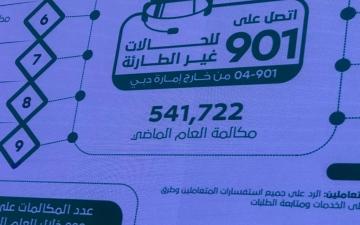 الصورة: الصورة: شرطة دبي: 5 ملايين و351 ألف مكالمة على 999.. 70% منها غير طارئة