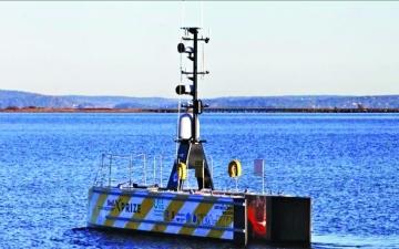 الصورة: الصورة: سفينة تبحر للأطلسي بلا طاقم