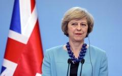الصورة: الصورة: رئيسة الوزراء البريطانية تعلن استقالتها من منصبها