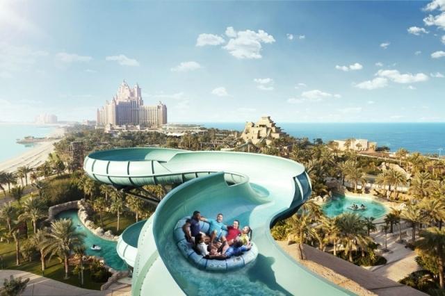 «أكوافينتشر دبي» أكبر حديقة مائية في العالم - البيان