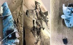 الصورة: الصورة: إسقاط «مسيّرة» حوثية تحمل متفجرات باتجاه جازان