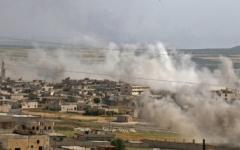 الصورة: الصورة: فرنسا : لدينا مؤشرات على استخدام السلاح الكيماوي في إدلب
