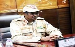 الصورة: الصورة: نائب رئيس المجلس العسكري السوداني : هناك دول تريدنا أن نكون مثل ليبيا وسوريا