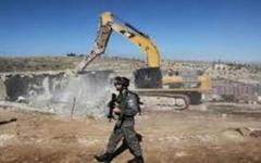 الصورة: الصورة: الاحتلال يهدم قرية العراقيب في النقب ويعتقل 11 فلسطينيا بالضفة