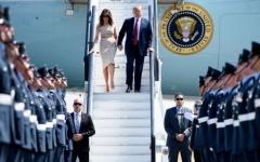 الصورة: الصورة: ماهي تكلفة زيارة ترامب إلى بريطانيا وما الذي يصطحبه في رحلاته ؟