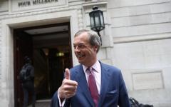 الصورة: الصورة: ترامب يحثّ بريطانيا على الخروج من الاتحاد الأوروبي بلا اتفاق