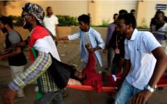 الصورة: الصورة: قتلى في إطلاق نار بمحيط ساحة الاعتصام في الخرطوم