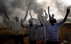 الصورة: الصورة: مصر تدعو كافة الاطراف السودانية للهدوء وضبط النفس