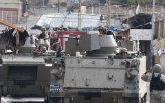 الصورة: الصورة: مقتل رجلي أمن في هجوم على دورية بطرابلس اللبنانية