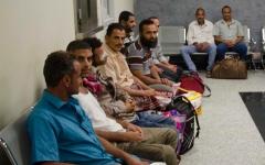 الصورة: الصورة: جرحى يمنيون يتلقون العلاج في القاهرة على نفقة الإمارات