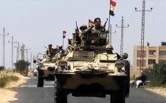 الصورة: الصورة: مصر: استشهاد 8 من عناصر الأمن في هجوم العريش الارهابي