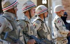 الصورة: الصورة: الداخلية المصرية تعلن مقتل 14 مسلحا من منفذي هجوم العريش الإرهابي