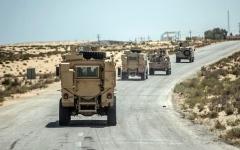 الصورة: الصورة: مقتل 8 ارهابيين متورطين في هجوم العريش
