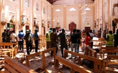 الصورة: الصورة: رئيس سريلانكا يقيل قائد الاستخبارات على خلفية «اعتداءات الفصح»