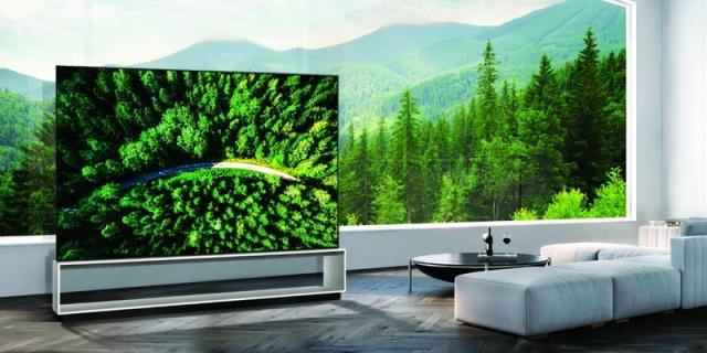 «إل جي» تطرح أول تلفاز «أوليد» في العالم بدقة 8 كيه للبيع - البيان
