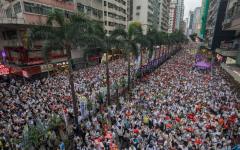 """الصورة: الصورة: الصين: """"قوى أجنبية"""" تسبب الفوضى في هونج كونج"""