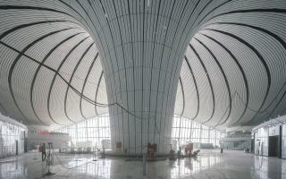 """الصورة: الصورة: مطار """"الفونيكس"""" الصيني من الداخل"""