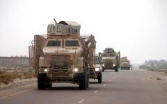 الصورة: الصورة: غارات للتحالف على مواقع الحوثي في صعدة
