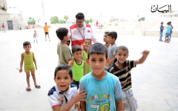الصورة: الصورة: مخيم الأوزاعي.. 175 عائلة تبحث عن شربة ماء