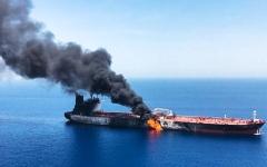 الصورة: الصورة: أمريكا تحمّل إيران مسؤولية هجمات خليج عُمان