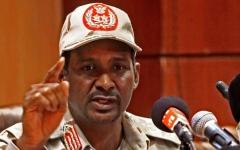 الصورة: الصورة: حميدتي يتهم أطرافاً بإشعال الفتنة في السودان